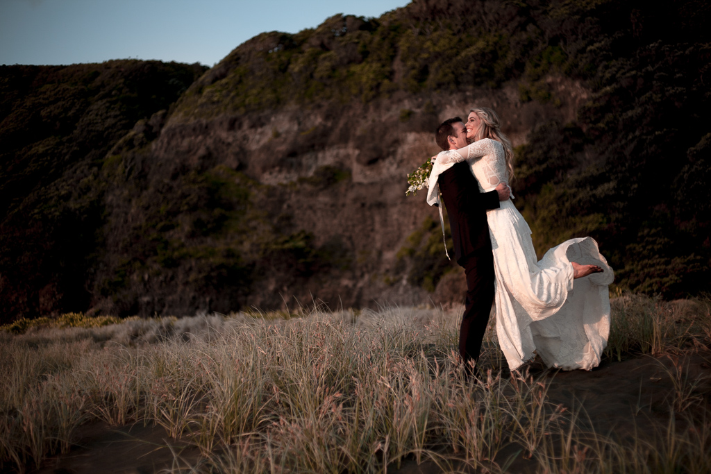Auckland Wedding, Piha Wedding
