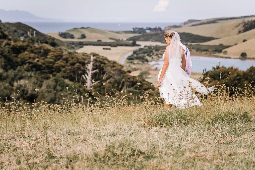 Tawharanui beach Wedding