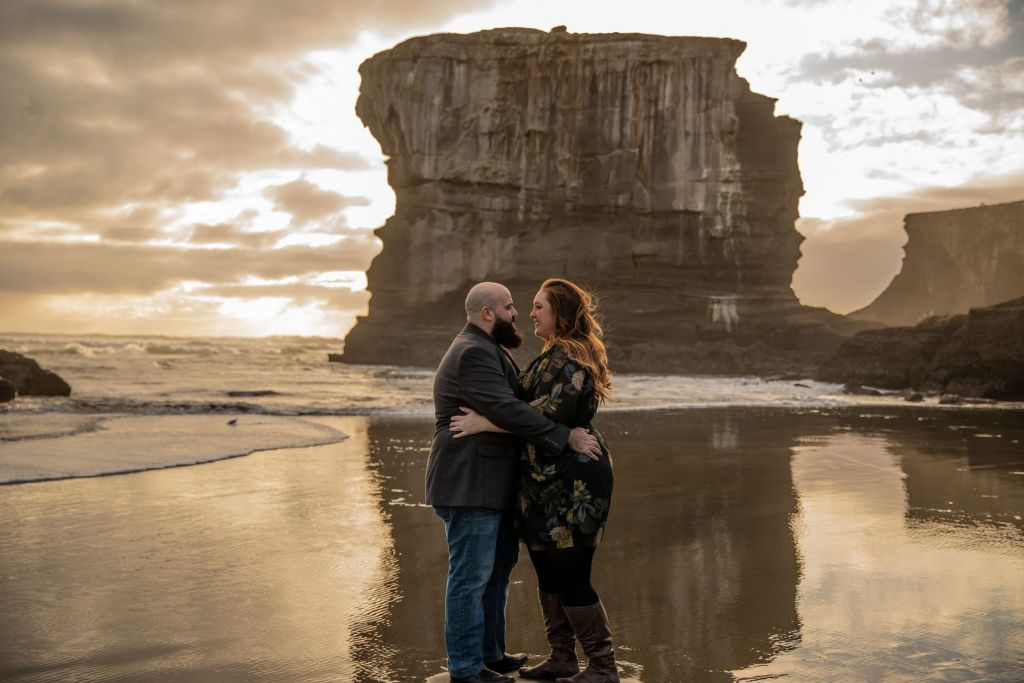 Maori Bay Engagement Shoot